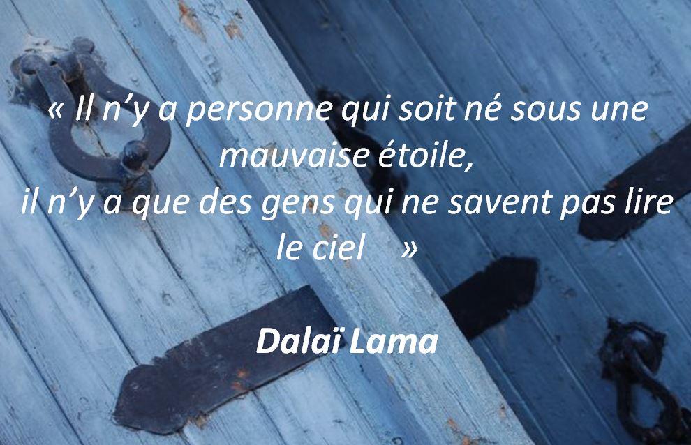 Une citation du Dalaï Lama
