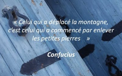 Une citation de Confucius